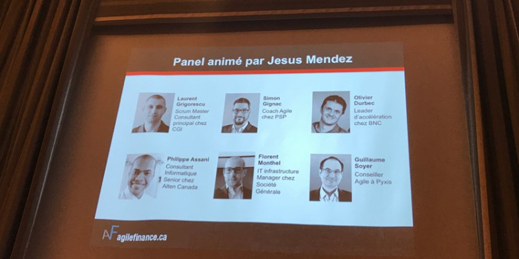 Panel Agile Finance 2018